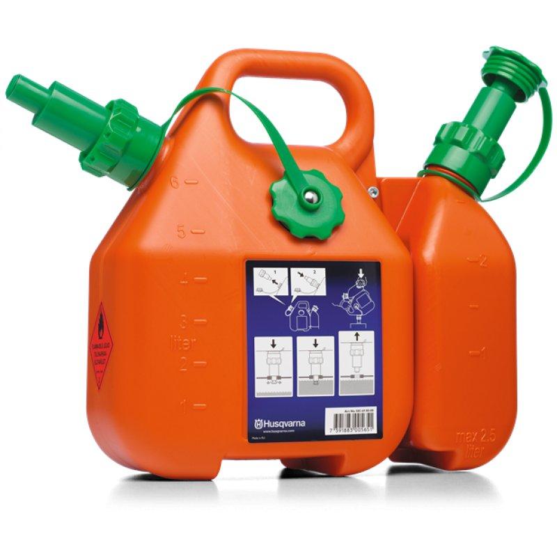 Δοχείο καυσίμων Compi HUSQVARNA / 6L+2.5L